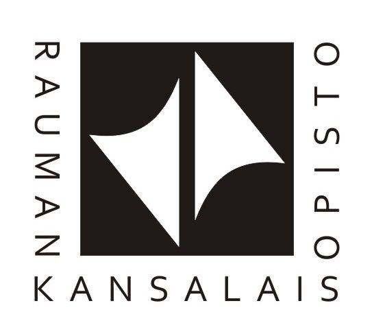 kansalaisopiston mustavalkoinen logo