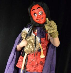 teatteri naamioitu henkilö