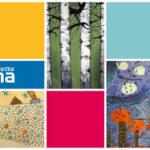 Rauma 575 vuotta postikortti kuvataidekoululaisten yhteistyö 2017
