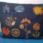 Salainen puutarha -malli tyyny 3
