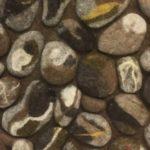 Ruskea kivialusta, yksityiskohta