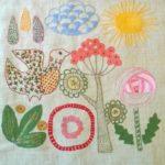 Salainen puutarha -malli tyyny 5