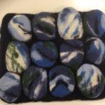 Sininsävyinen kivialausta