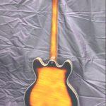 Soitinrakennus kitara takaa