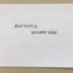 Kalligrafian kauniisti kirjoitettuja sanontoja (8)