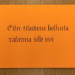 Kalligrafian kauniisti kirjoitettuja sanontoja (9)