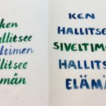 Kalligrafian värikurssi (1)