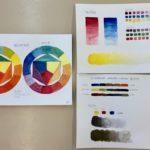 Kalligrafian värikurssi (16)