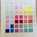 Kalligrafian värikurssi (22)