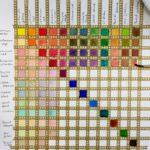 Kalligrafian värikurssi (26)