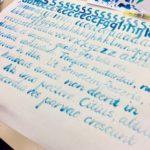 Kalligrafian värikurssi (29)