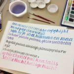 Kalligrafian värikurssi (4)
