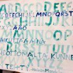 Kalligrafian värikurssi (5)