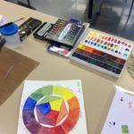 Kalligrafian värikurssi (9)