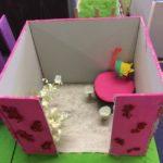 Kässää ja kuvista lapsille, sisustussuunnitelma huoneeseen 1