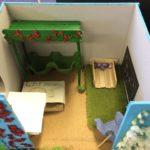 Kässää ja kuvista lapsille, sisustussuunnitelma huoneeseen 3