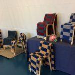 Kodisjoen kudonta, ontelosidos, tuolinpäällisiä