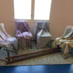 Kodisjoen kudonta, shaaleja ja matto