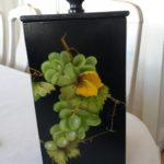 Koristemaalaus vihreät viinirypäleet