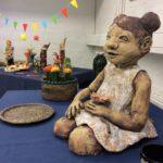 Lapin keramiikka, kevänäyttelyn näkymää
