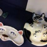 Lapin keramiikka, kissa-aiheita