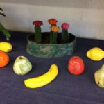 Lapin keramiikka, värikkäitä hedelmiä