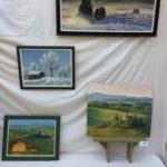 Maisemamaalauksia eri vuodenajoilta 2