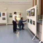 Opistotalon maalausnäyttelyä rakennetaan 2019 (1)