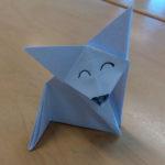 Origami-kettu Taitava ti