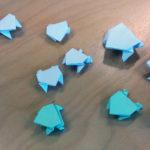 Origami-sammakko Taitava ti