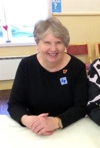 Kuva kansalaisopiston rehtori Helinä Seikolasta