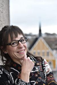 Raumalainen kirjailija Marja Tanhuanpää