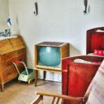 Kirsti-museo, sisäkuva 1960-luvun huone.