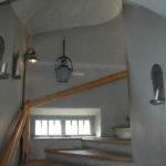 Näkymä Vanhan Raatihuoneen portaikkoon.