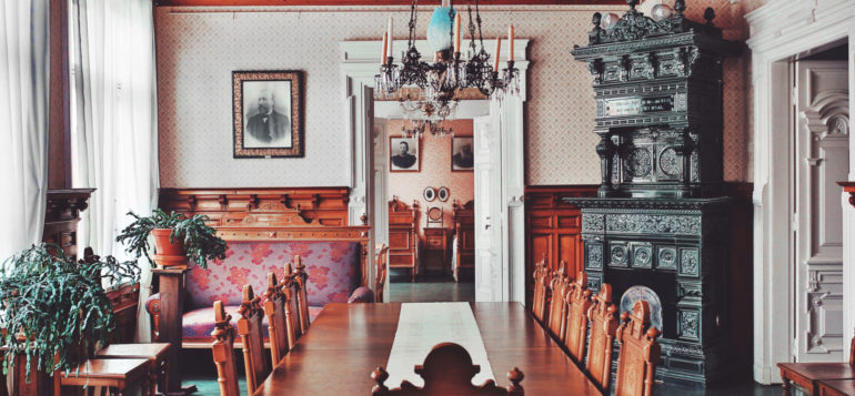 Marela museum dining room