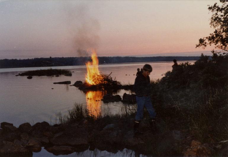 Juhannuskokko Raumalla 1990-luvulla