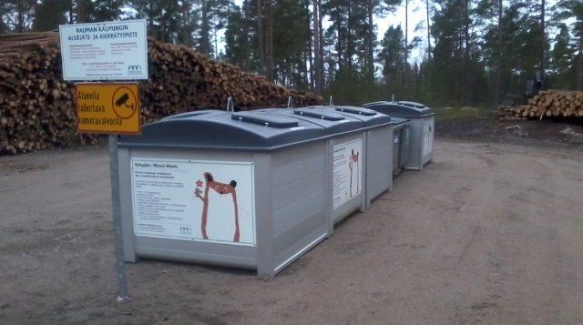 Haapasaaren kierrätyspiste