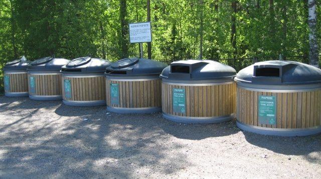 Kaaron kierrätyspiste