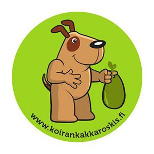 Koirankakkaroskis, logo