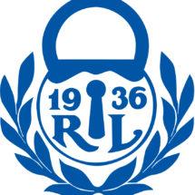 Rauman Lukon sininen logo.