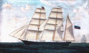 Harmoni-purjelaiva, maalaus