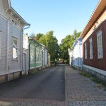 Katunäkymä Vanhassa Raumassa