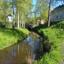 Raumanjoki alkukesällä