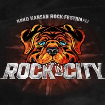 Rock in the City -tapahtuman logo.