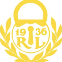 Rauman Lukon keltainen logo.