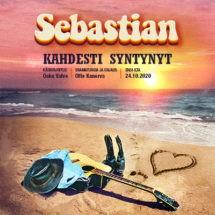 Sebastian näytöksen mainoskuva.