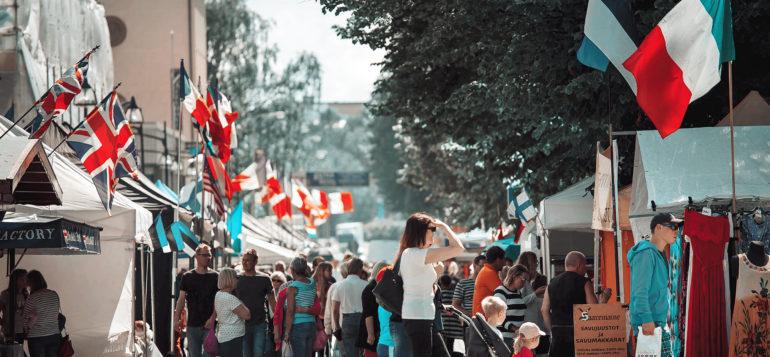 Pitsiviikko, Kansainväliset suurmarkkinat, Nortamonkatu, kesä