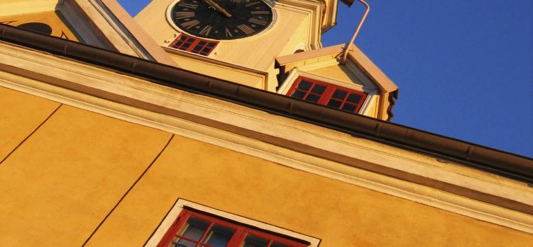 Rauman Raatihuone, keskusta, Vanha Rauma, taivas
