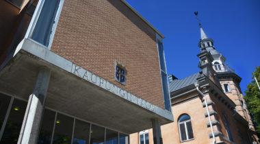 Rauman kaupungintalo, vaakuna