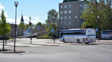 Rauman linja-autoasema, liikenne, kesä